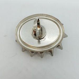 GASOLINE GLAMOUR Jewelry - Ransom rhinestone spike heart cocktail ring sample